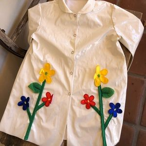 SLICKER RAIN COAT Vtg 1960's-70's Handmade Girls